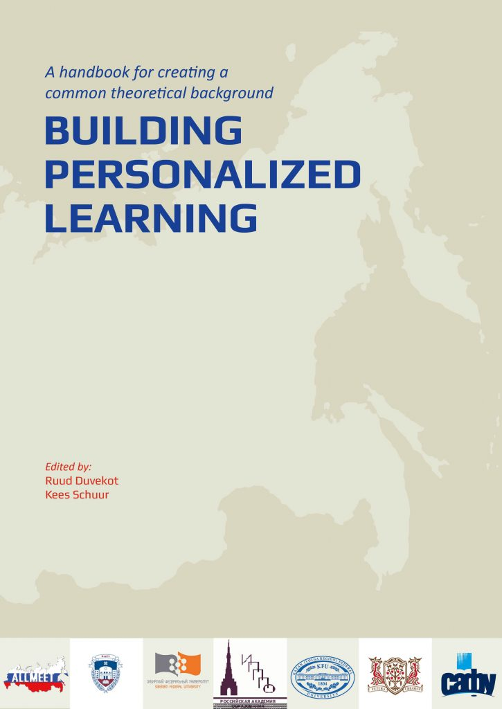 Handbook Personalized Learning